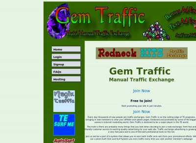 Gem Traffic Manual Exchange