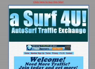 aSurf4U Traffic Exchange